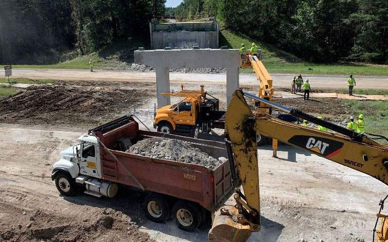 Crews demolish the damaged GA-86 bridge over I-16 in less than 36 hours to clear the way for the interstate to reopen.