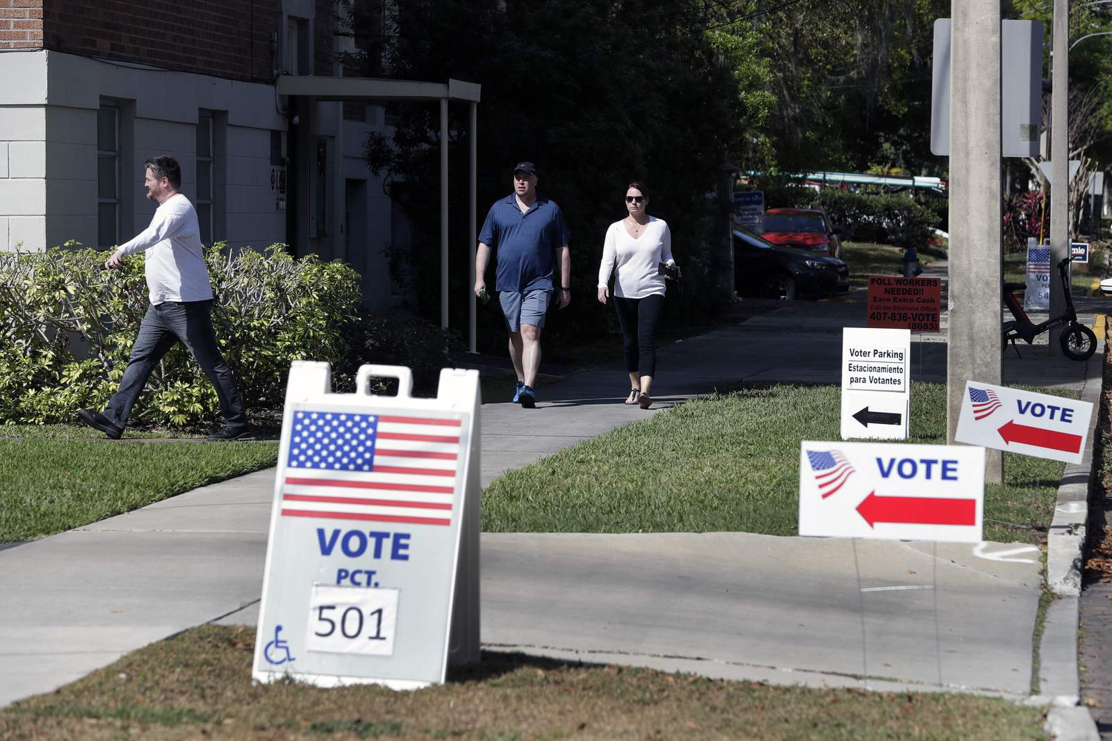 Law enforcement prepares for possibility of armed militias, voter suppression at Florida polling places