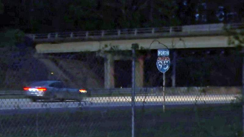 Clark Road overpass on I-95