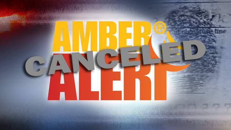 AMBER Alert canceled