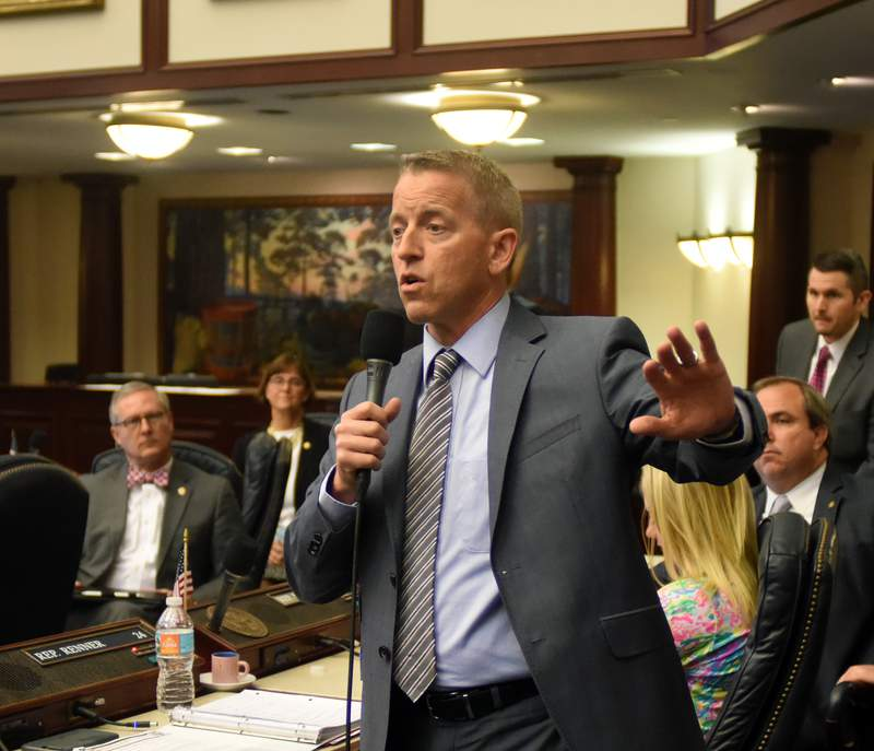Rep. Paul Renner, R-Palm Coast, during a special session of the Legislature in 2017.