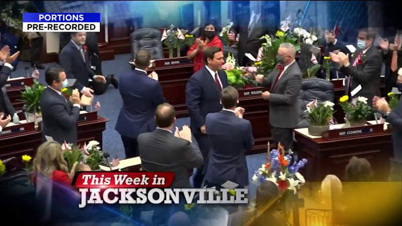 Florida's first legislative session of 2021; Governor's state of the state address; UNF research polls