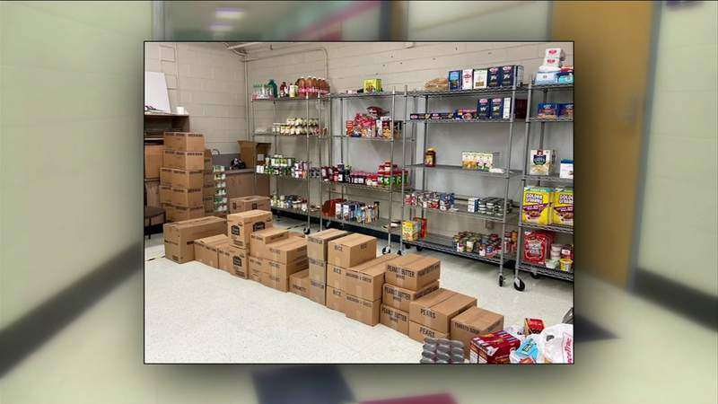 Elementary School Counselor Fights Hunger for Students