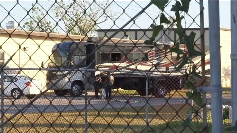 Standoff with man inside RV ends after 5 hours