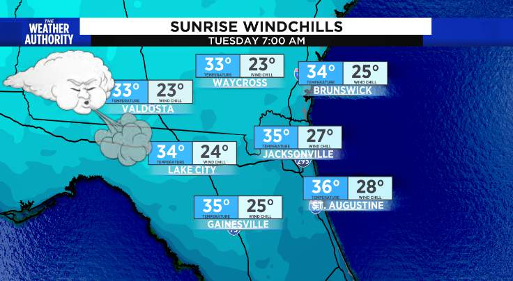 Wind Chill Advisory from 4am until 9am
