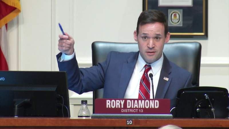 WATCH: Councilman Rory Diamond speaks at special committee meeting