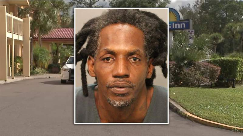 Samson Woods, 39, faces a list of charges in connection with Sunday's shooting and carjacking that resulted in a police chase.