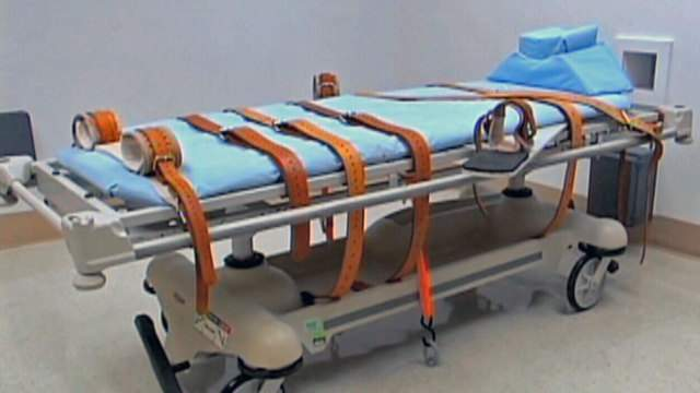 Florida's death chamber at Florida State Prison