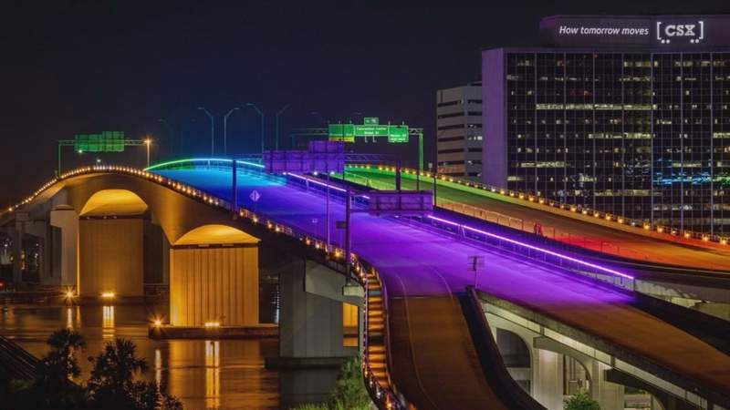 Acosta Bridge's rainbow lights will be back on; I-TEAM uncovers what happened