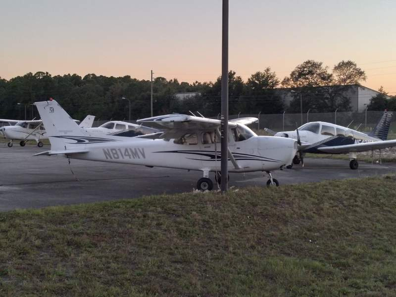 Photo shows one of the planes struck in the incident.