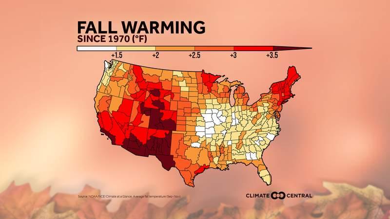 Fall Warming Trend