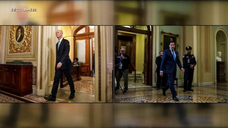 Florida senators sound off as talks drag on $450B virus aid package for small businesses, hospitals