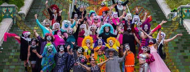 The Sisters of Perpetual Indulgence are a leading-edge Order of queer and trans nuns.