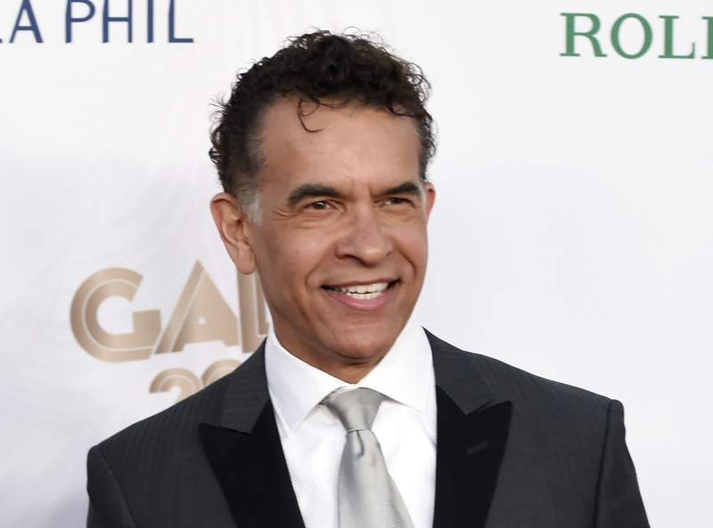 FILE - This Sept. 27, 2016 file photo shows Brian Stokes Mitchell at the Los Angeles Philharmonic's Walt Disney Concert Hall Opening Night Concert and Gala in Los Angeles. Mitchell will be hosting a new streaming talk show focusing on fellow artists like him who have made the jump from stage to film, television or music. The six-episode first season starts July 26 with Vanessa Williams as guest. (Photo by Chris Pizzello/Invision/AP, File)
