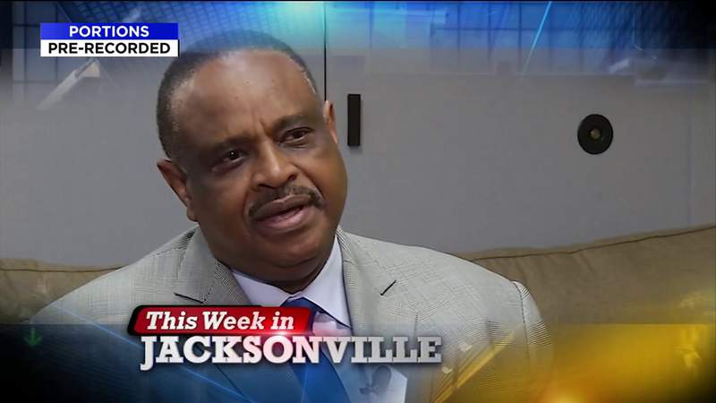 Congressman Al Lawson; Former Duval County Supervisor of Elections Jerry Holland; and Vaccine Passports