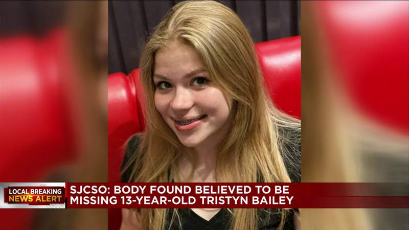 Search ends in tragedy: Body believed to be missing St. Johns County girl