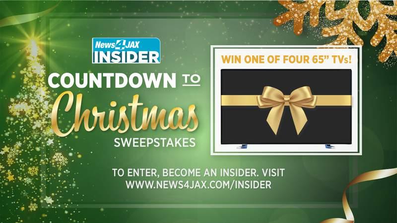 News4JAX Insider Countdown to Christmas Sweepstakes
