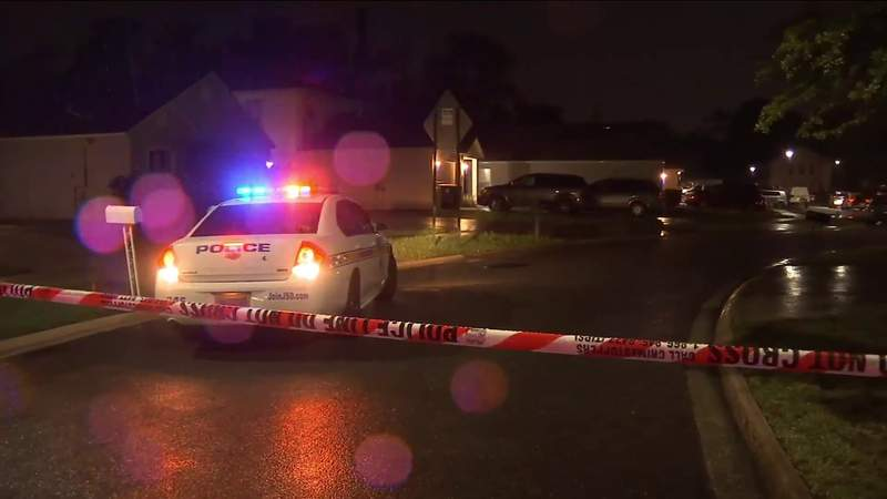 Police investigate a shooting Saturday in Hyde Park.