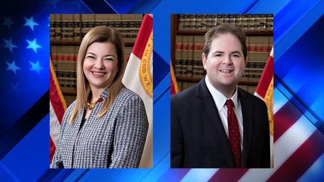 Justice Barbara Lagoa and Justice Robert J. Luck (Photos courtesy: Florida Supreme Court)