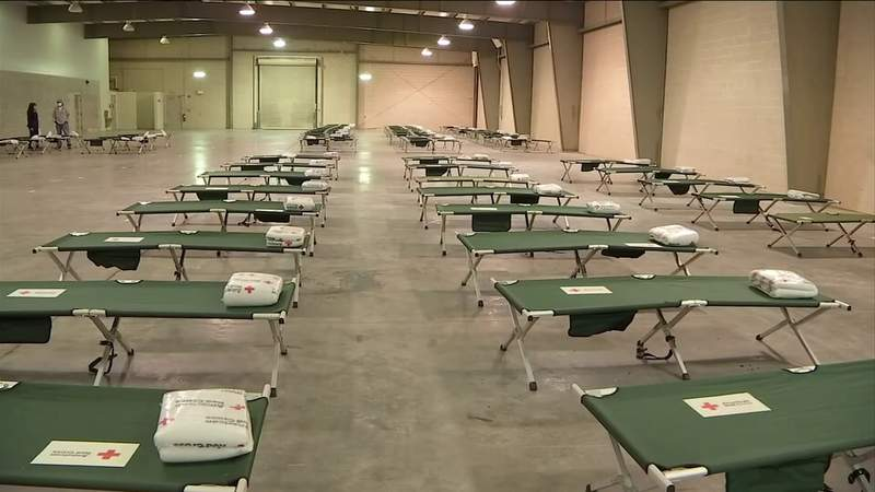 Shelter Open For Homeless That Were In Tent Camp
