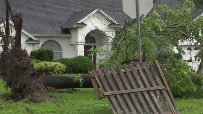Severe storm lifts cars, leaves trail of damage on Northside