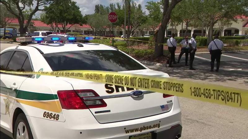 Grandmother and toddler killed by a man at Publix in Palm Beach County.