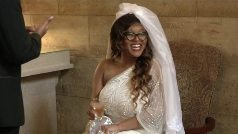 After COVID-19 canceled their wedding, bride gets surprise St. Augustine ceremony