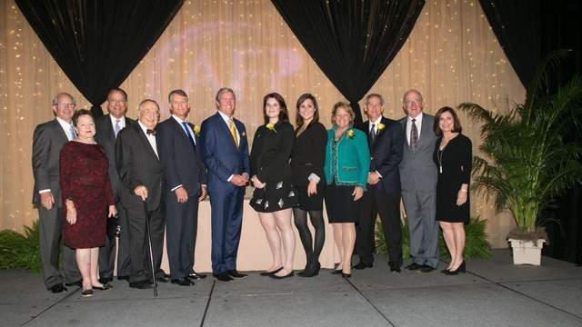 Winners from National Philanthropy Day luncheon