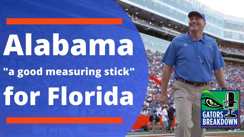 The Gators will find out a lot about themselves vs Alabama