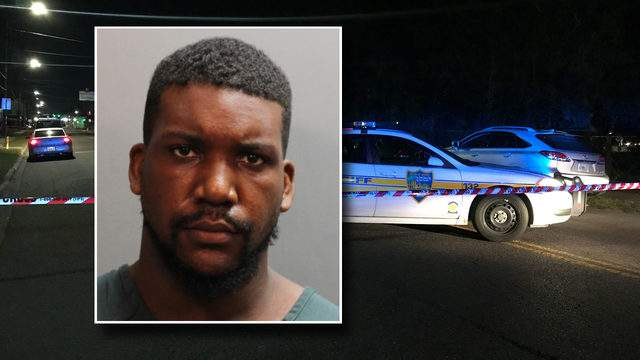 Jacksonville police say Xavier Daniels show and killed a man Monday night.