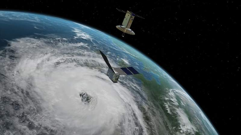 A shoebox size satellite demostrated big data can come from an inexpensive small package.