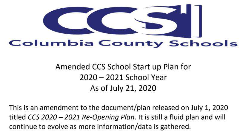 Columbia County schools push back start date to Aug. 24
