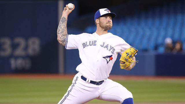 Former Sandalwood pitcher Sean Reid-Foley was called up to the big leagues by the Blue Jays this week.