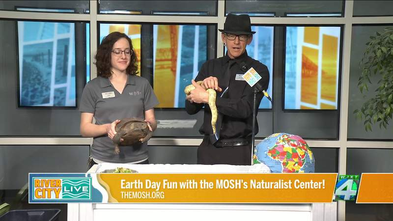 Earth Day Fun with the MOSH's Naturalist Center   River City Live