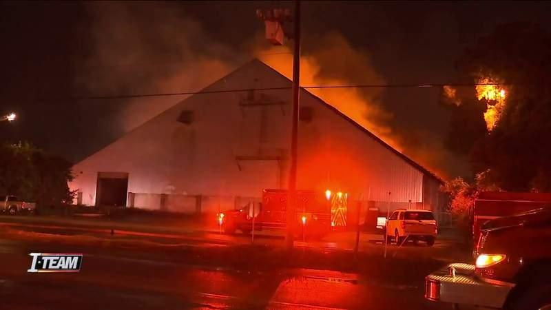 I-TEAM: Site of Brunswick warehouse blaze has history of fires