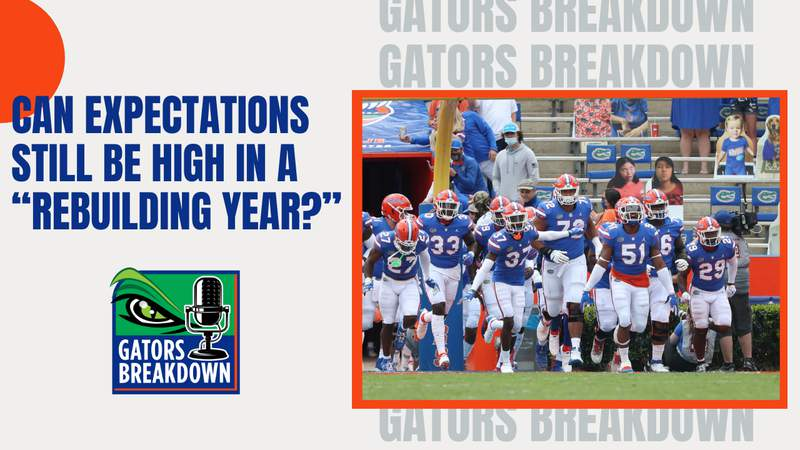 With few returning starters, expectations still are high from Gator Nation.