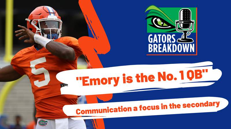 Emory Jones waited his time to become QB for the Gators