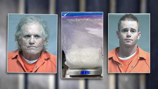 Edward Sharp,65 and Robert Blevins charged with Trafficking meth