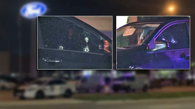 Southside cars, people shot.