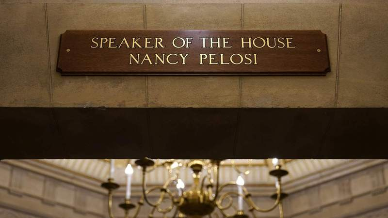 Woman accused of theft from Pelosi's office during riot