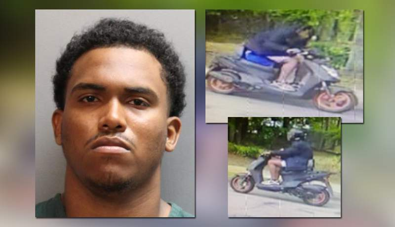 Giovonni Jirah Johnson, 19, is charged with armed sexual battery, armed burglary and false imprisonment.