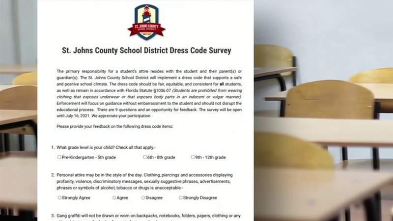 Parents sound off on shorts in St. Johns County school dress code survey