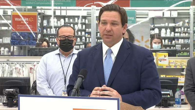 Vaccine distribution to begin at 18 Jacksonville Walmart locations