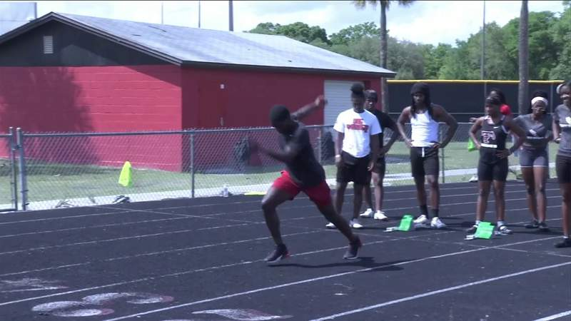 Parker sprinter Aaron Bell has big goals on the track