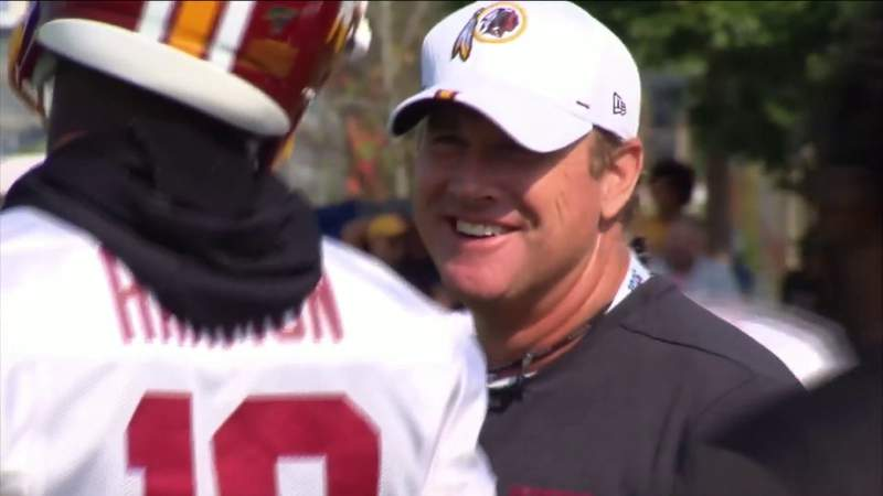 Jay Gruden ready to get to work with Jaguars QB Minshew