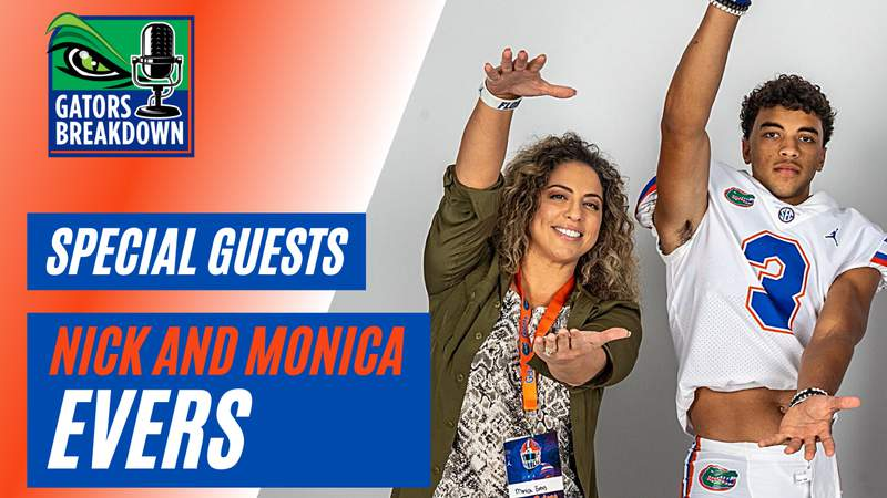 Nick and Monica Evers already feel so much love from Gator Nation without even playing game.