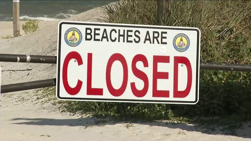 Nassau County commissioners vote to reopen beaches Friday