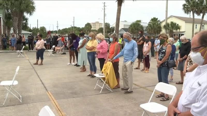 Vigil for healing held at beaches