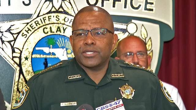 Clay County Sheriff Darryl Daniels