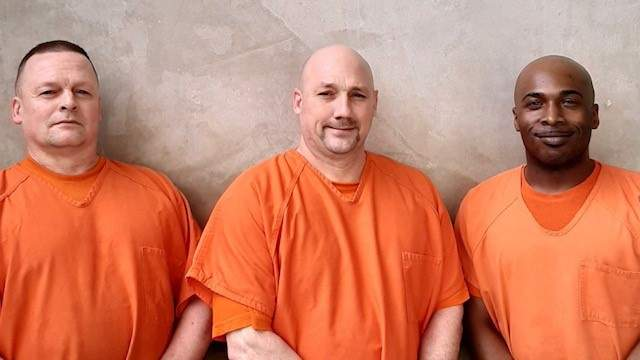 """A post on the Facebook page of the Gwinnett County Sheriff's Office reads, in part: """"We are deeply appreciative to these three inmates for the courage, determination and kindness they displayed when they came to the rescue of our deputy who recently suffered a medical emergency while supervising a jail housing unit."""""""